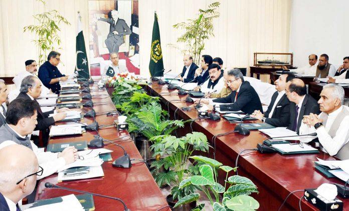 اسلام آباد: مشیر خزانہ عبدالحفیظ شیخ اقتصادی رابطہ کمیٹی کے اجلا س کی صدارت کررہے ہیں
