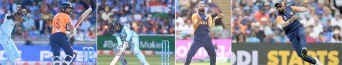 برمنگھم : ورلڈ کپ کے اہم میچ میں بھارت اور انگلینڈ کے درمیان کھیلے گئے میچ کے مناظر