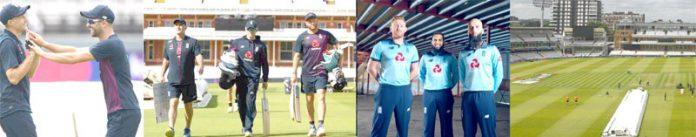لارڈز کے تاریخی گرائونڈ میں ورلڈکپ فائنل کے حوالے سے نیوزی لینڈ اور انگلینڈ کے کھلاڑی بھرپور پریکٹس کررہے ہیں ،فائنل معرکے کے لیے انگلینڈ ہوم گرائونڈ کے لحاظ سے فیوریٹ قرار دی جارہی ہے ،تاہم دونوں ٹیموں کے درمیان پہلی مرتبہ ٹائٹل حاصل کرنے کی جستجوکے حوالے سے مقابلہ سخت ہوگا