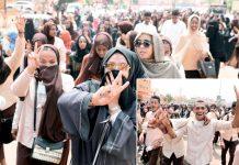 خرطوم: اقتدار پر قابض فوجی کونسل اور حزب اختلاف کے درمیان معاہدے پر دستخط کے بعد شہری جشن منا رہے ہیں