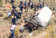 ترکی: کھائی میں گرنے والی منی بس سے تارکین وطن کی لاشیں نکالی جارہی ہیں