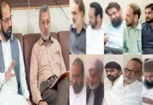 امیرجماعت اسلامی لاہورذکراللہ مجاہد ضلعی عہدیداران کے اجلاس میں شرکات سے خطاب کررہے ہیں