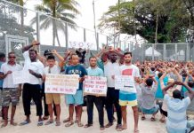 جزیرہ مانوس: حراستی مرکز میں قید تارکین وطن آسٹریلوی امیگریشن پالیسی کے خلاف احتجاج کررہے ہیں
