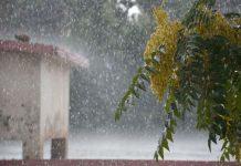 کوئٹہ میں موسلادھار بارش کاخوبصورت منظر