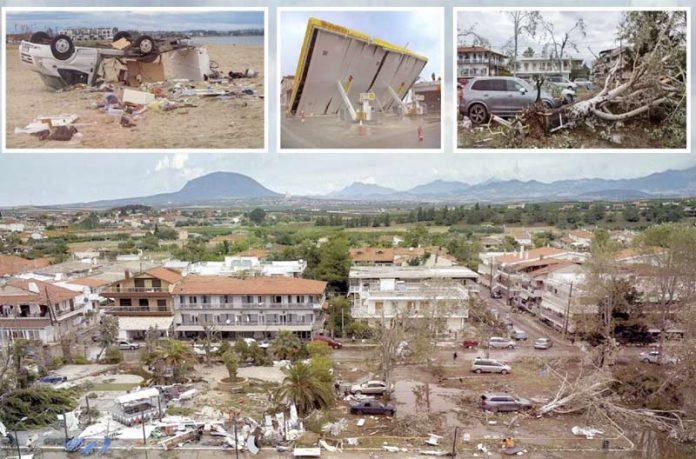شمالی یونان: طوفانی ہواؤں سے تباہی6 سیاح ہلاک' 60 افراد زخمی