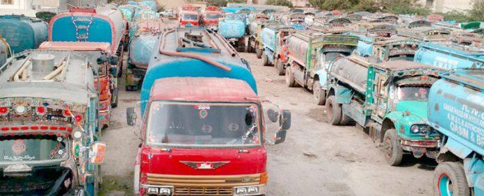 سخی حسن واٹر ہائیڈرنٹ پر حملے کے بعد ٹینکر ڈرائیوروں نے ہڑتال کر رکھی ہے