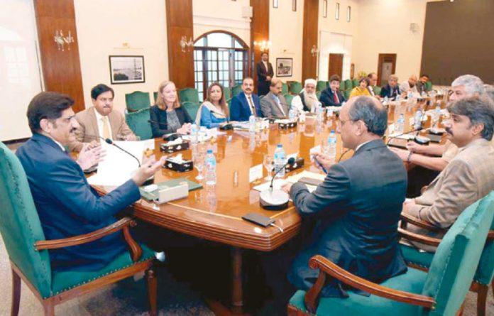 کراچی:وزیر اعلیٰ سندھ گرین لائن منصوبے سے متعلق اجلاس کی صدارت کر رہے ہیں
