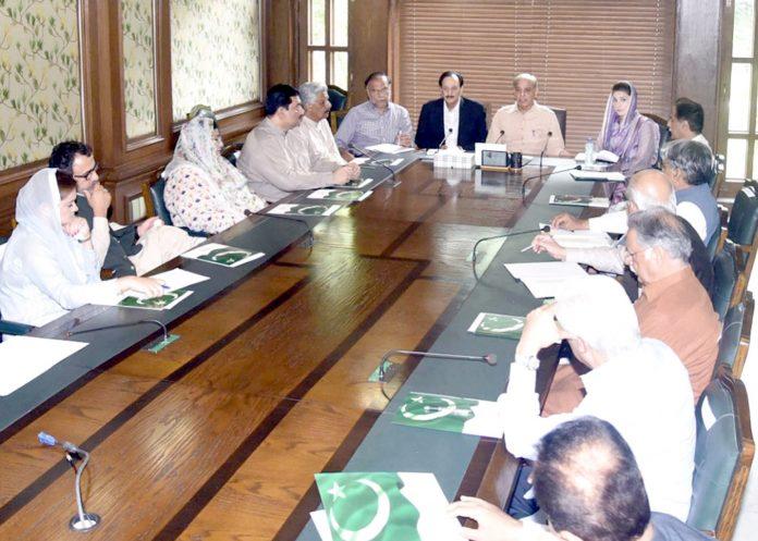 لاہور: مسلم لیگ (ن) کے صدر شہباز شریف ماڈل ٹائون سیکرٹریٹ میں پارٹی کی سینٹرل ایگزیکٹیو کمیٹی کے اجلاس کی صدارت کررہے ہیں