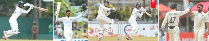 کولمبو: سری لنکا اور نیوزی لینڈ کے درمیان دوسرے ٹیسٹ کے تیسرے روز کھیلے جانے والے میچ کی تصویری جھلکیاں