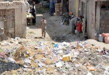 کوئٹہ ،کاسی روڈ سبزی منڈی پر جمع کچرے کا ڈھیر مقامی انتظامیہ کی کارکردگی کا پول کھول رہا ہے
