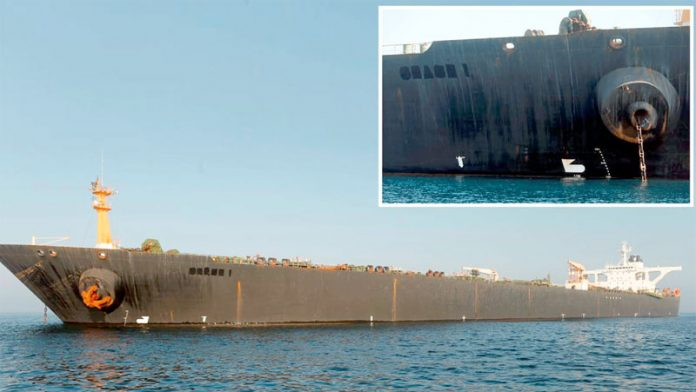 جبل طارق: تیل بردار ایرانی جہاز نے برطانیہ سے رہائی پانے کے بعد بحیرۂ روم میں سفر شروع کردیا ہے