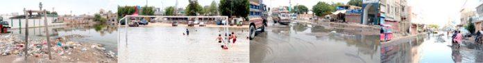 شہرمیں صفائی کی ابترصورت حال پر سندھ حکومت اور شہری حکومت میںپہلے ہی اختلافات تھے ،اب علی زیدی کی صفائی مہم کی شکل میںایک اورعنصر پیدہوگیاہے۔غلاظت اور تعفن کی وجہ سے شہری تنگ آچکے ہیں، زیرنظرتصاویرمیںملیر،کورنگی اور نیوکراچی کی زبوںحالی عیاں ہے
