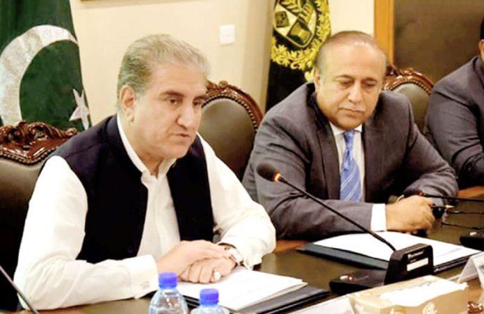اسلام آباد: وزیرخارجہ شاہ محمود قریشی قومی اسمبلی کی قائمہ کمیٹی برائے امور خارجہ کے اجلاس سے خطاب کررہے ہیں