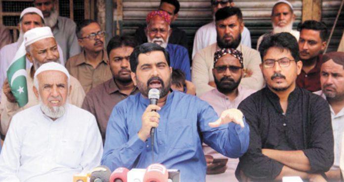 کراچی: جماعت اسلامی کے رکن سندھ اسمبلی سید عبدالرشید لیاری کے مسائل پر پریس کانفرنس کررہے ہیں