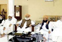 اسلام آباد: مولانا فضل الرحمن کی زیر صدارت جے یو آئی کی شوریٰ کا اجلاس ہورہا ہے