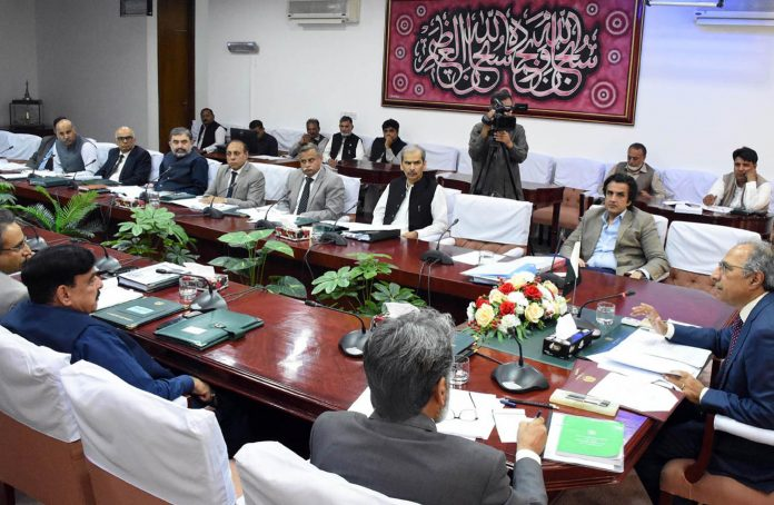 اسلام آباد: مشیر خزانہ ڈاکٹر عبدالحفیظ شیخ کی زیر صدارت توانائی سے متعلق اجلاس ہورہاہے