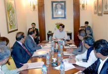 کراچی: وزیراعلیٰ سندھ سید مراد علی شاہ اسکول ایجوکیشن کے اجلاس کی صدارت کررہے ہیں