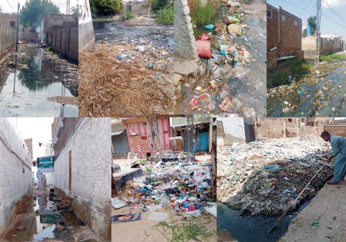 ٹنڈوجام ،شہر کچرے کے ڈھیر میں تبدیل ہوگیا، صفائی کا نظام درہم برہم ،مکینوں کو آمدورفت میں شدید مشکلات کاسامنا کرنا پڑ رہا ہے