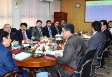 اسلام آباد: چیئرمین نیب جسٹس(ر) جاوید اقبال کارکردگی اجلاس کی صدارت کررہے ہیں