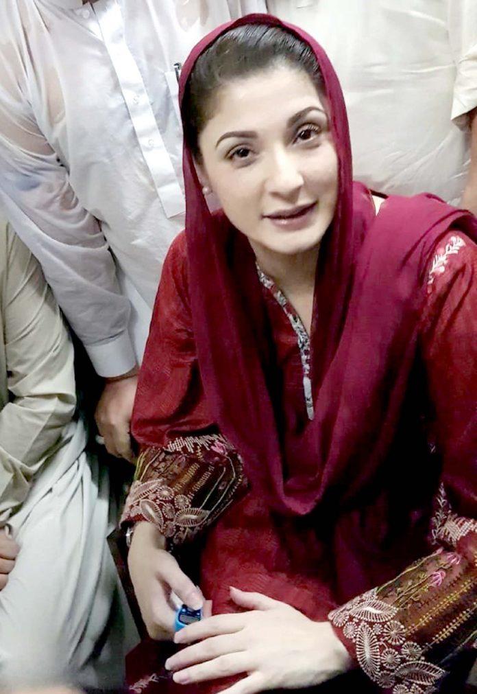 لاہور: ن لیگ کی نائب صدر مریم نواز پیشی کے موقع پر احتساب عدالت میں موجود ہیں