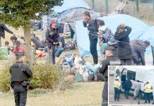 فرانس: پولیس انگلش چینل کے قریب لگی خیمہ بستی اکھاڑکر 900 تارکین وطن کو منتقل کررہی ہے'برطانیہ جانے کی کوشش میں پکڑے گئے افراد کو گرفتار کیا جارہا ہے