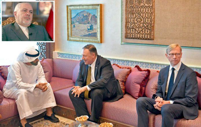 ابوظبی/ تہران: امریکی وزیرخارجہ مائیک پومپیو ولی عہد محمد بن زاید النہیان سے ملاقات کررہے ہیں' جواد ظریف سی این این کو انٹرویو دے رہے ہیں