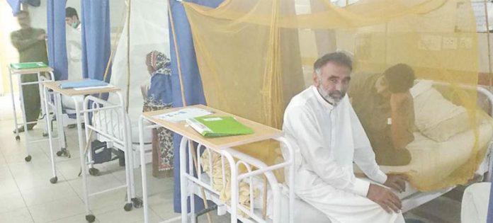 اسلام آباد ،ڈینگی کے مریضوں کا حفاظتی اقدام میں علاج کیا جارہا ہے