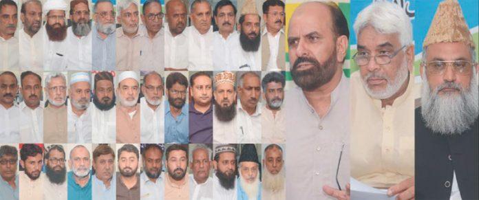 فیصل آباد،جماعت اسلامی کے ضلعی امیر انجینئر محمد عظیم رندھاوا کی صدارت میں شہر کی سیاسی اور مذہبی جماعتوں کا مشترکہ اجلاس سے سردارظفر حسین خان و دیگرخطاب کررہے ہیں