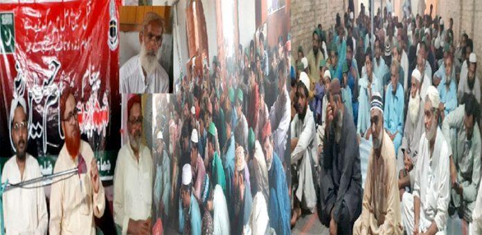 نائب امیر جماعت اسلامی سندھ ممتاز حسین سہتو جیکب آباد اور تعلقہ گڑھی خیرو گلاب ماڑی میں خطاب کررہے ہیں