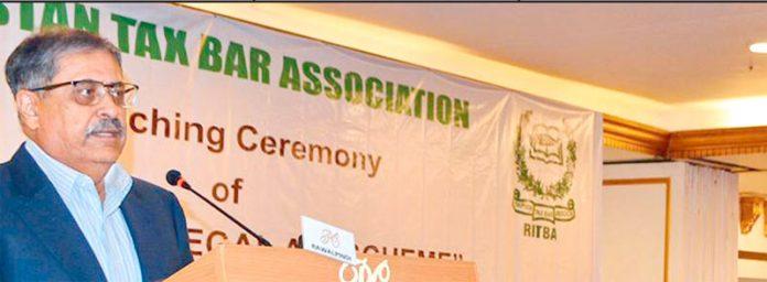 اسلام آباد ہائی کورٹ کے چیف جسٹس اطہر من اللہ راولپنڈی ٹیکس بار ایسوسی ایشن کے سیمینار سے خطاب کر رہے ہیں