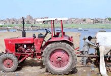 حیدر آباد : کنٹونٹمنٹ بورڈ کے قبرستان سے برساتی پانی کی نکاسی کی جارہی ہے