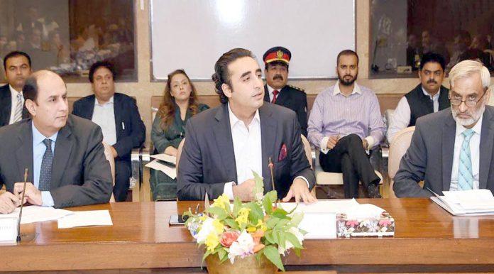 اسلام آباد: بلاول زرداری کی زیرصدارت قائمہ کمیٹی برائے انسانی حقوق کا اجلاس ہورہا ہے