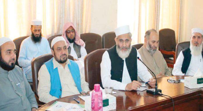 پشاور: امیر جماعت اسلامی پاکستان سینیٹر سرا ج الحق صوبائی مجلس شوریٰ کے اجلاس سے خطاب کررہے ہیں