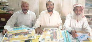 جیکب آباد: جہادکشمیرمارچ کے سلسلے میں جماعت اسلامی کے کارکنان تیاریوں میں مصروف ہیں
