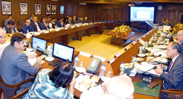 کراچی: وزیراعلیٰ سندھ سید مراد علی شاہ صوبائی کابینہ کے اجلاس کی صدارت کررہے ہیں