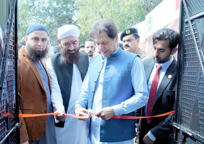 اسلام آباد: وزیراعظم عمران خان ''احساس سیلانی لنگر'' کا افتتاح کررہے ہیں