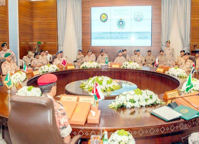 ریاض: خلیج تعاون کونسل کی عسکری قیادت مشاورت کررہی ہے