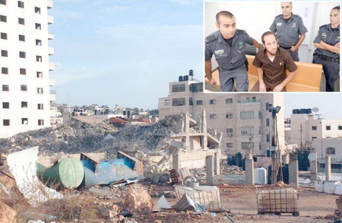 فلسطین: قابض فوج نے شہید کا مکان ملبے کا ڈھیر بنا دیا ہے' 16 سال قید کی سزا پانے والے امجد جبارین کمرہ عدالت میں موجود ہیں