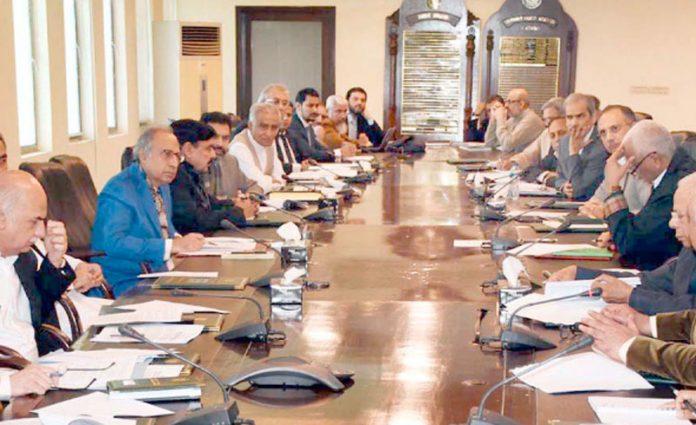 اسلام آباد: مشیر خزانہ ڈاکٹر عبدالحفیظ شیخ کی زیرصدارت اقتصادی رابطہ کمیٹی کا اجلاس ہورہا ہے