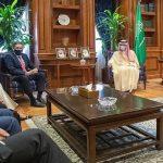 US meet Saudi Foreign Minister 1